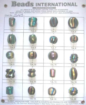 Rainbow Beads 549
